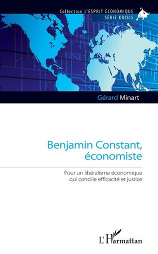 Couverture Benjamin Constant, économiste