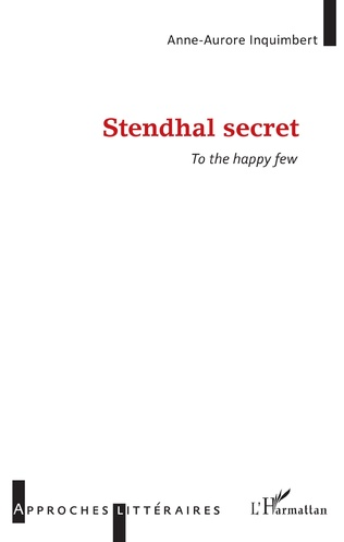 Couverture Stendhal secret