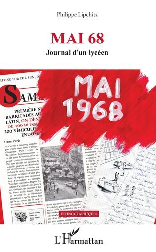 Couverture Mai 68 Journal d'un lycéen