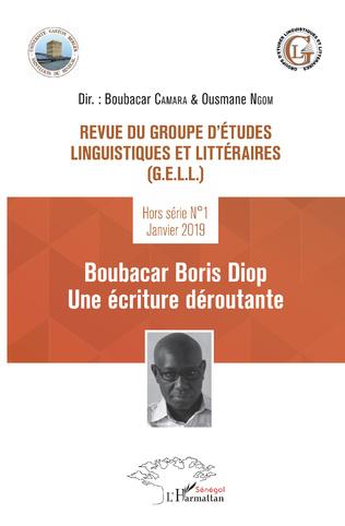 Couverture Revue du groupe d'études linguistiques et littéraires