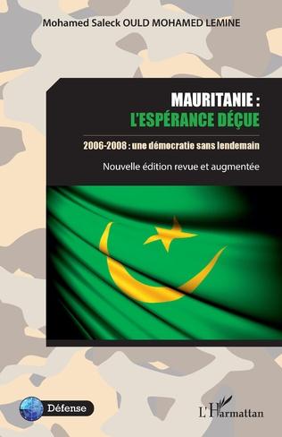 Couverture Mauritanie : l'espérance déçue