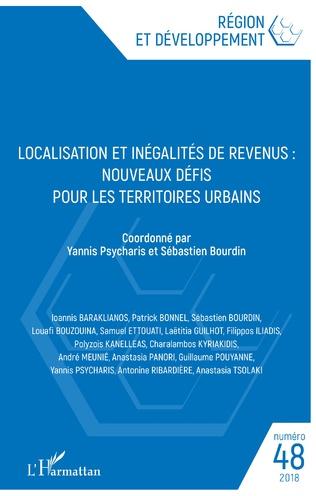 Couverture Localisation et inégalités de revenus