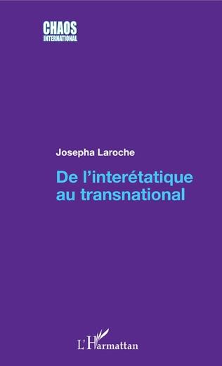 Couverture De l'interétatique au transnational