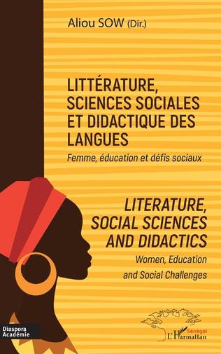 Couverture Littérature, sciences sociales et didactique des langues