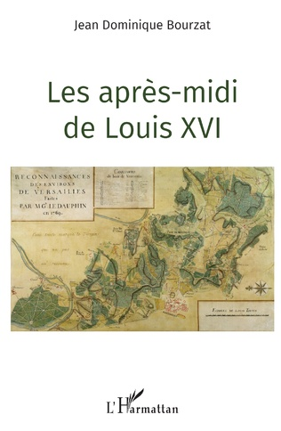 Couverture Les après-midi de Louis XVI