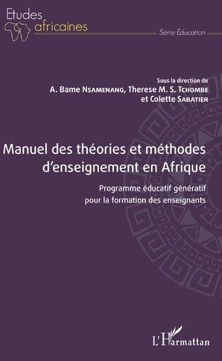 Couverture Manuel des théories et méthodes d'enseignement en Afrique