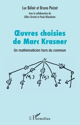 Couverture Oeuvres choisies de Marc Krasner