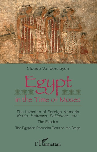 Couverture Egypt in the Time of Moses