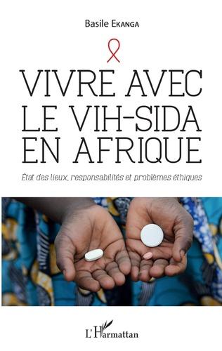 Couverture Vivre avec le VIH-Sida en Afrique