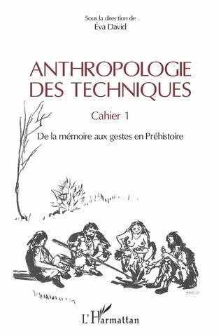 Couverture Anthropologie des techniques