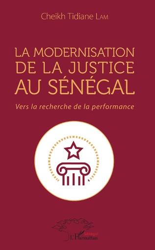 Couverture La modernisation de la justice au Sénégal