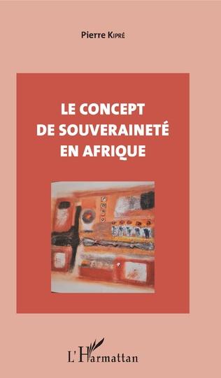 Couverture Le concept de souveraineté en Afrique