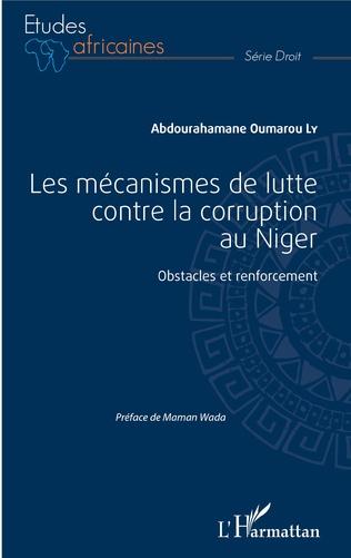 Couverture Les mécanismes de lutte contre la corruption au Niger