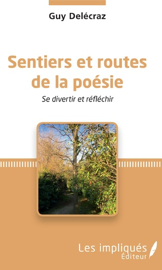 Couverture Sentiers et routes de la poésie