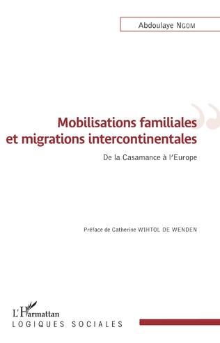 Couverture Mobilisations familiales et migrations intercontinentales