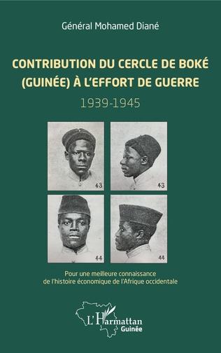 Couverture Contribution du cercle de Boké (Guinée) à l'effort de guerre (1939-1945)