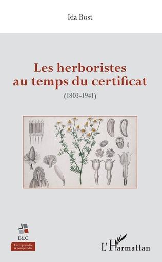 Couverture Les herboristes au temps du certificat