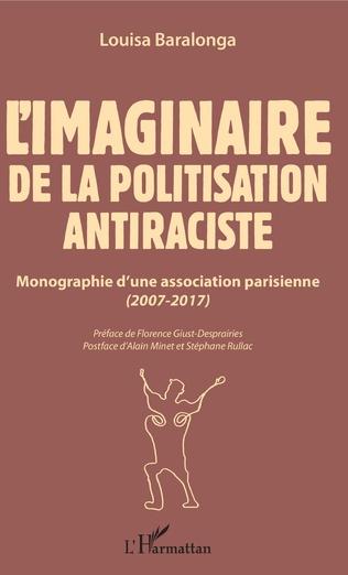 Couverture L'imaginaire de la politisation antiraciste