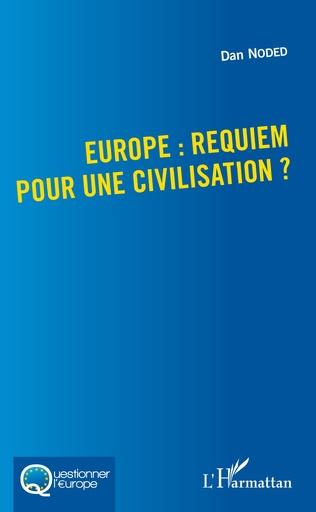 Couverture Europe : requiem pour une civilisation ?