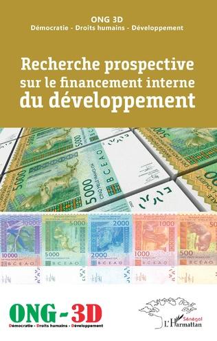 Couverture Recherche prospective sur le financement interne du développement