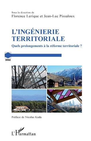 Couverture L'ingénierie territoriale
