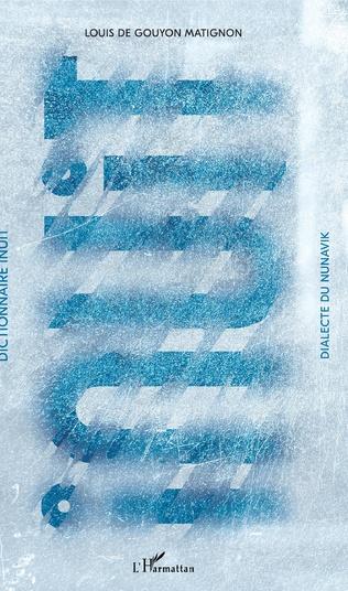 Couverture Dictionnaire inuit