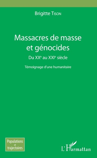 Couverture Massacres de masse et génocides