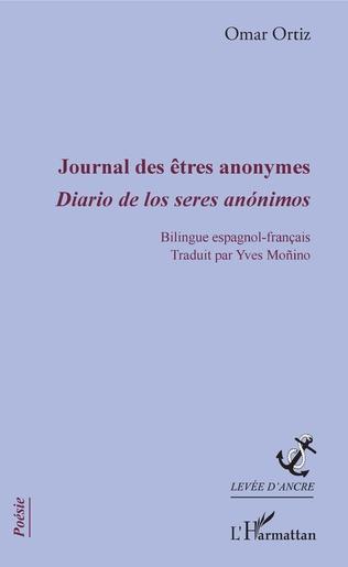 Couverture Journal des êtres anonymes