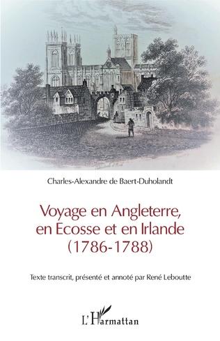 Couverture Voyage en Angleterre, en Ecosse et en Irlande