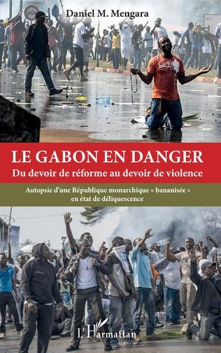 Couverture Le Gabon en danger