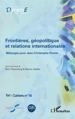 Couverture Frontières, géopolitique et relations internationales