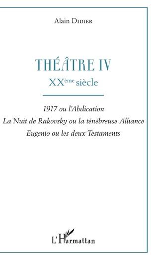 Couverture Théâtre IV