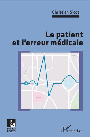 Couverture Le patient et l'erreur médicale