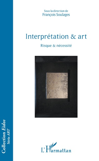 Couverture Interprétation & art