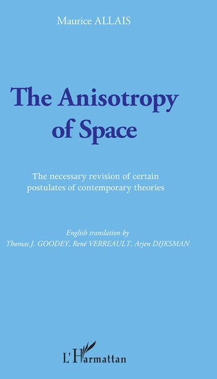 Couverture The Anisotropy of Space