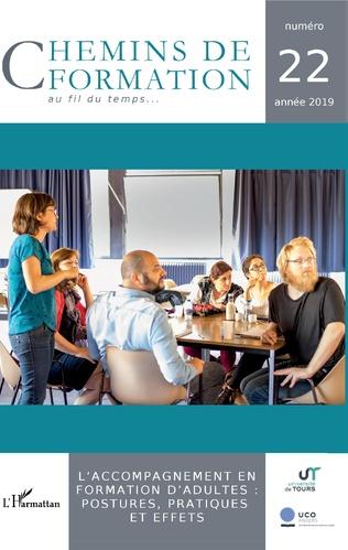 Couverture L'accompagnement en formation d'adultes : postures, pratiques et effets