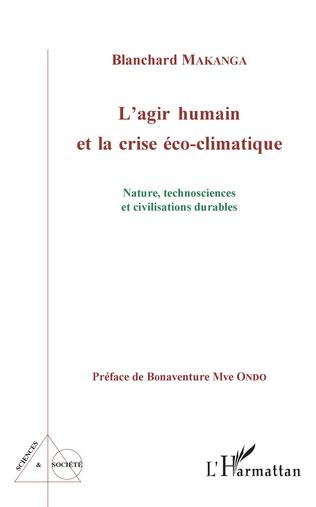 Couverture L'agir humain et la crise éco-climatique