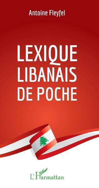 Couverture Lexique libanais de poche