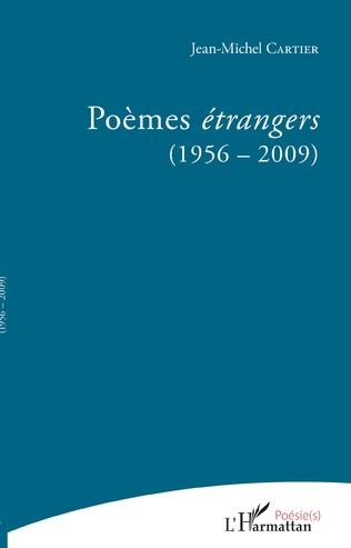 Couverture Poèmes étrangers