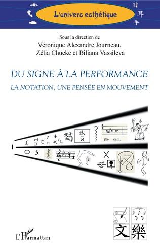 Couverture Du signe à la performance