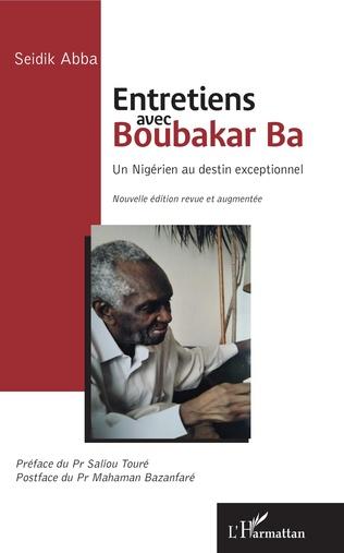 Couverture Entretiens avec Boubakar Ba
