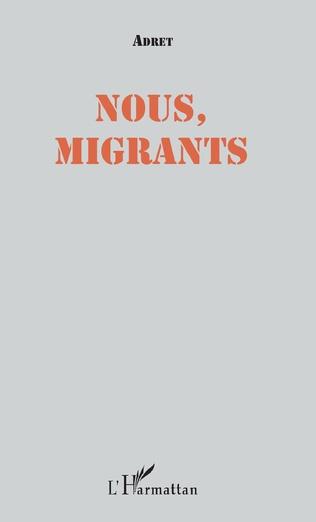 Couverture Nous, migrants