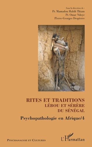 Couverture Rites et traditions Lébou et Sérère du Sénégal