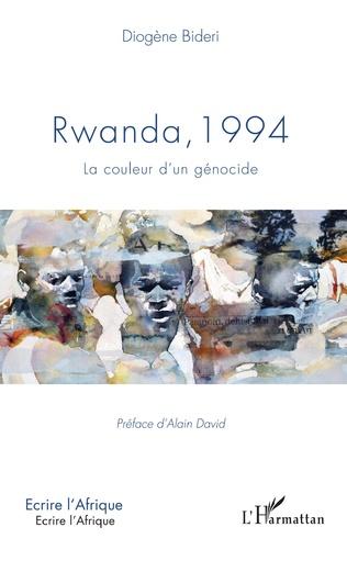 Couverture Rwanda, 1994 La couleur d'un génocide