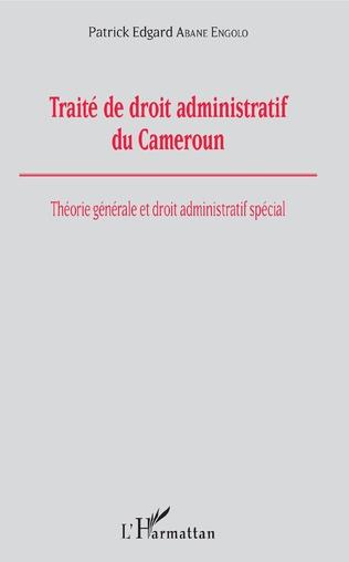 Couverture Traité de droit administratif du Cameroun