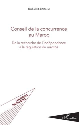 Couverture Conseil de la concurrence au Maroc