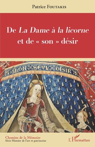 Couverture De <em>La Dame à la licorne </em>et de