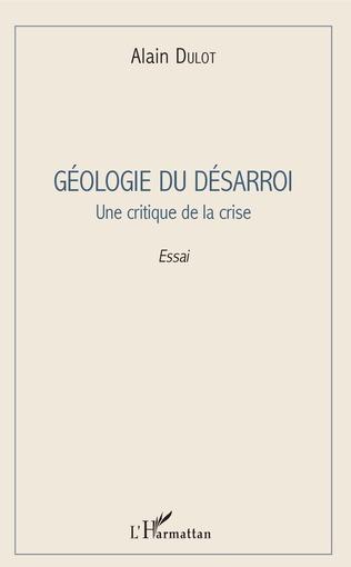 Couverture Géologie du désarroi
