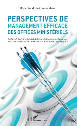 Couverture Perspectives de management efficace des offices ministériels