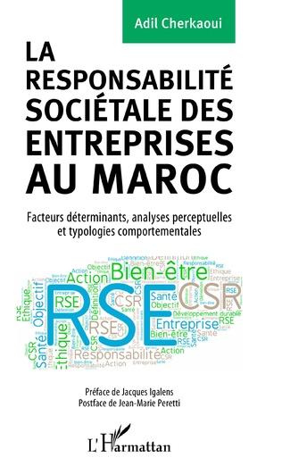 Couverture La responsabilité sociétale des entreprises au Maroc
